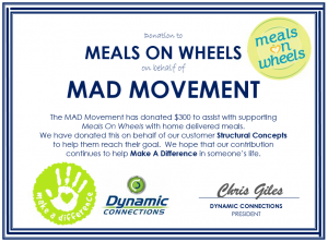 Meals On Wheel Structural
