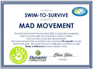 Swim To Survive 2015